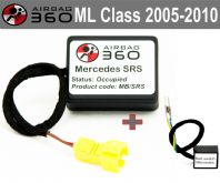 Mercedes ML Class w164   Passenger Seat mat Occupancy Sensor, occupied recognition sensor  emulator